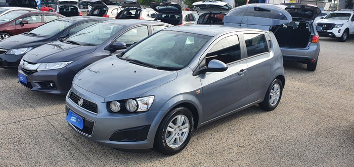 2015 Holden Barina CD TM MY15 SILVER