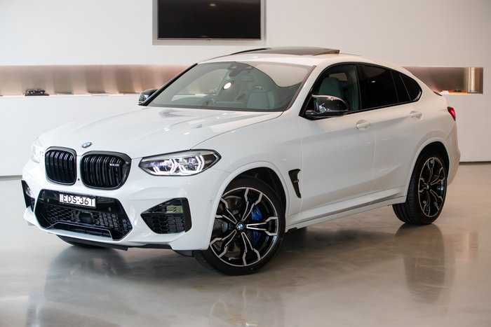 2019 BMW X4 M Competition F98 4X4 On Demand WHITE