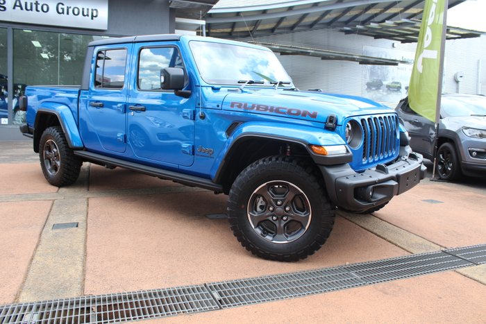 2020 Jeep Gladiator Rubicon JT MY20 HYDRO BLUE-PEARL COAT