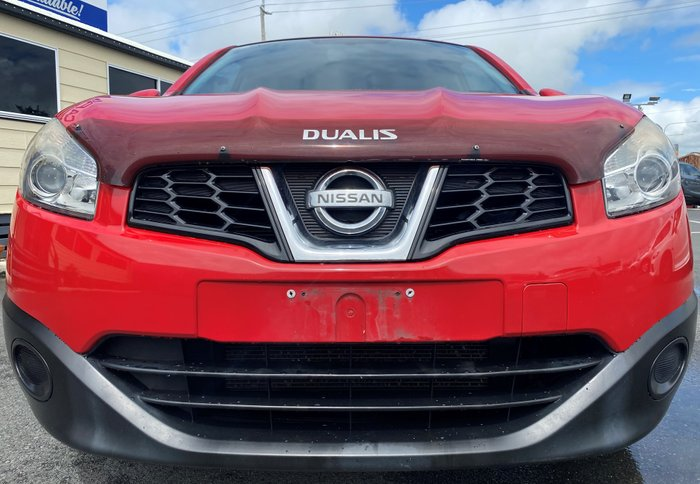 2011 Nissan Dualis ST J10 Series II MY10 RED