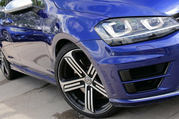 2016 Volkswagen Golf R 7 MY17 Four Wheel Drive BLUE
