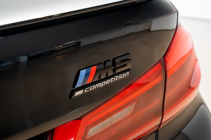 2019 BMW M5 Competition F90 4X4 On Demand BLACK