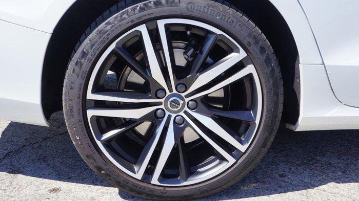 2019 Volvo V60 T5 R-Design MY20 AWD Crystal White Pearl