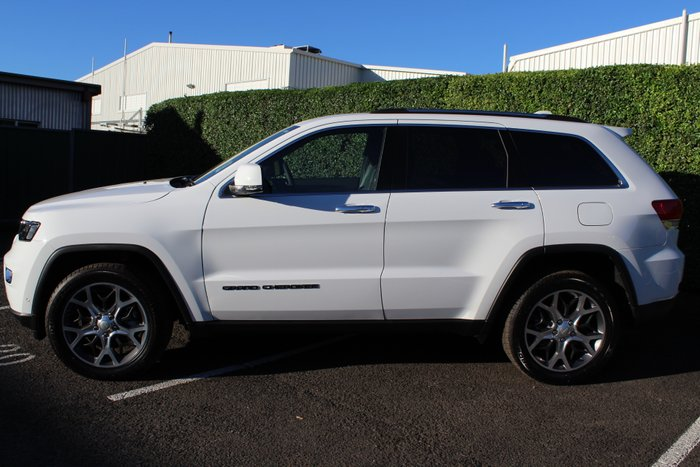 2019 Jeep Grand Cherokee Limited WK MY19 4X4 Dual Range Bright White