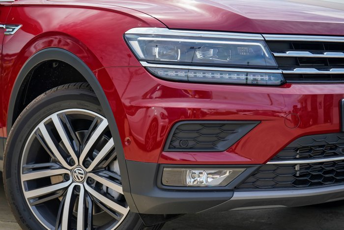 2019 Volkswagen Tiguan Allspace 162TSI Highline 2.0L DSG AWD Wagon 4WD Ruby Red Metallic