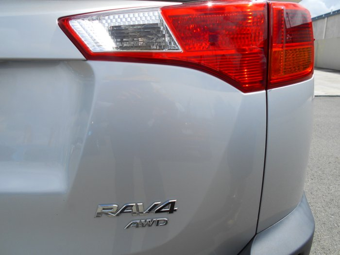 2015 Toyota RAV4 GX ASA44R MY14 4X4 On Demand SILVER