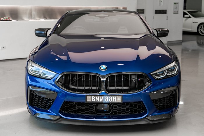 2020 BMW M8 Competition F92 4X4 On Demand BLUE