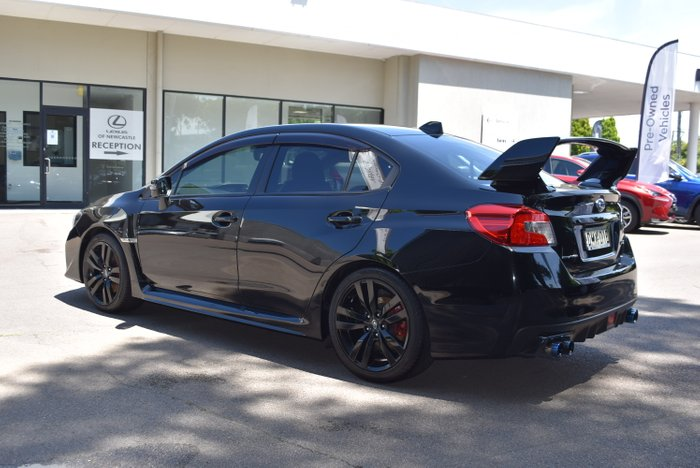 2017 Subaru WRX Premium V1 MY17 Four Wheel Drive BLACK