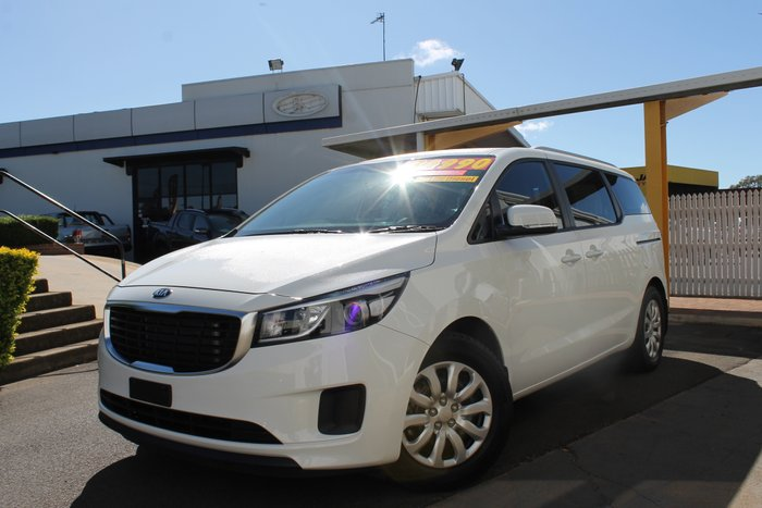 2018 Kia Carnival S YP MY18 CLEAR WHITE