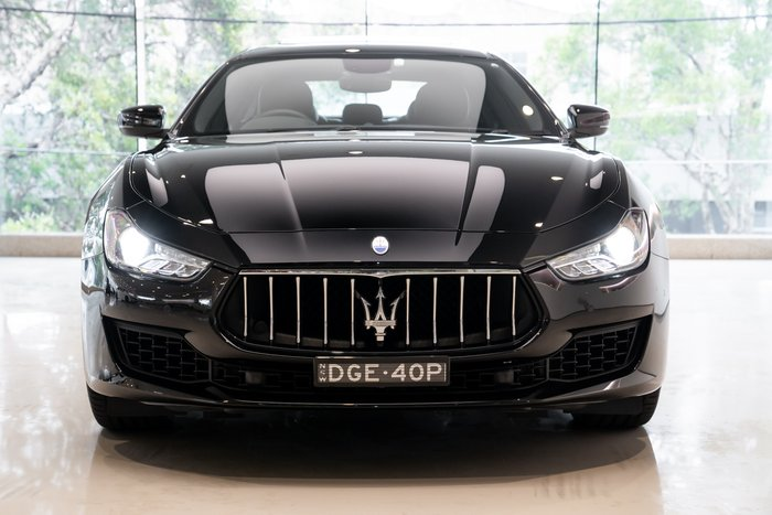 2019 Maserati Ghibli V6 Turbo MY19 NERO