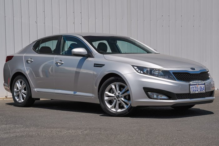 2012 Kia Optima Si TF MY12 BRIGHT SILVER