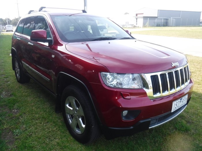 2012 Jeep Grand Cherokee Limited WK MY13 4X4 Constant RED