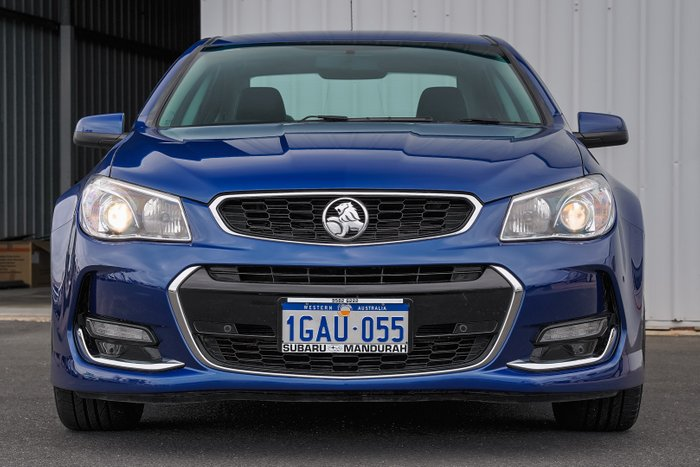 2016 Holden Commodore SV6 VF Series II MY16 BLUE