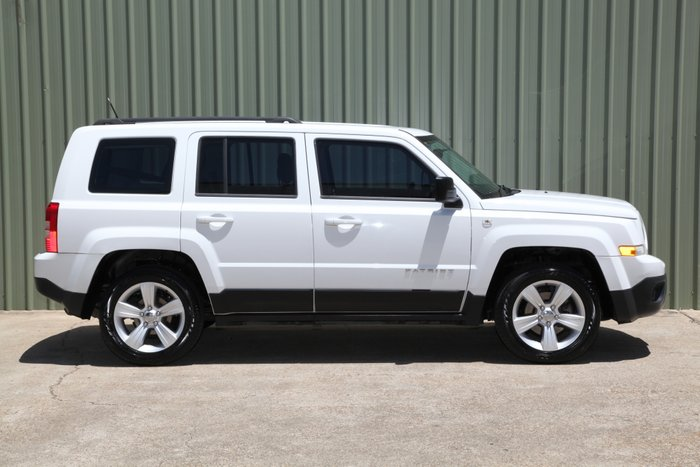 2012 Jeep Patriot Sport MK MY12 WHITE