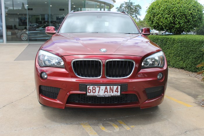 2010 BMW X1 sDrive20d E84 MY11 sDrive20d WAG STPT 6sp 2.0DT RED
