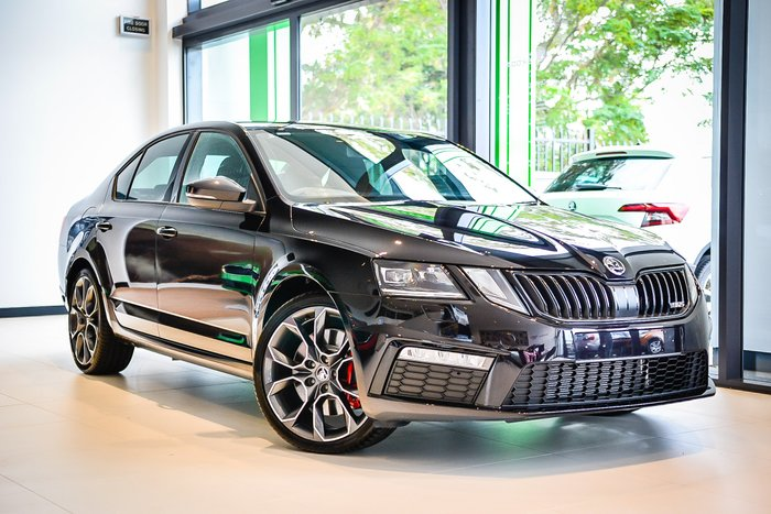 2019 Skoda Octavia Rs Sedan 2.0L T/P 7Spd DSG MY19 Black Magic Pearl