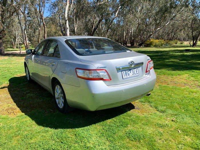 2010 Toyota Camry Hybrid AHV40R MY10 Silver