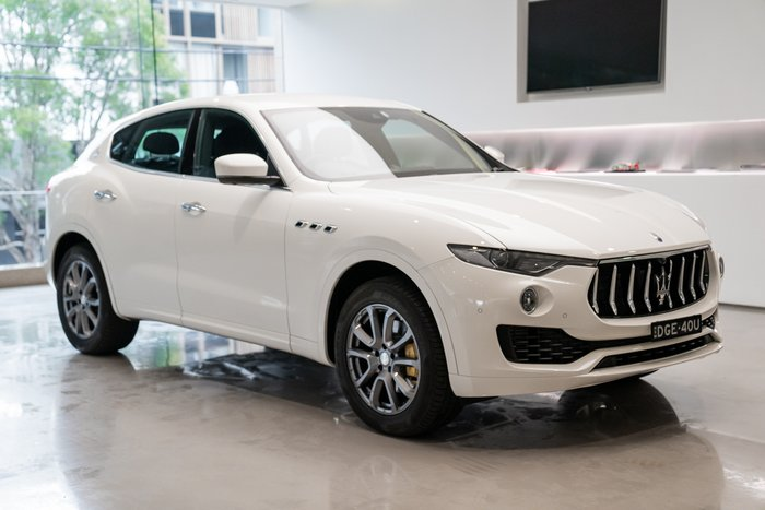 2020 Maserati Levante 3.0MD 275HP V6 4WD MY20 Bianco