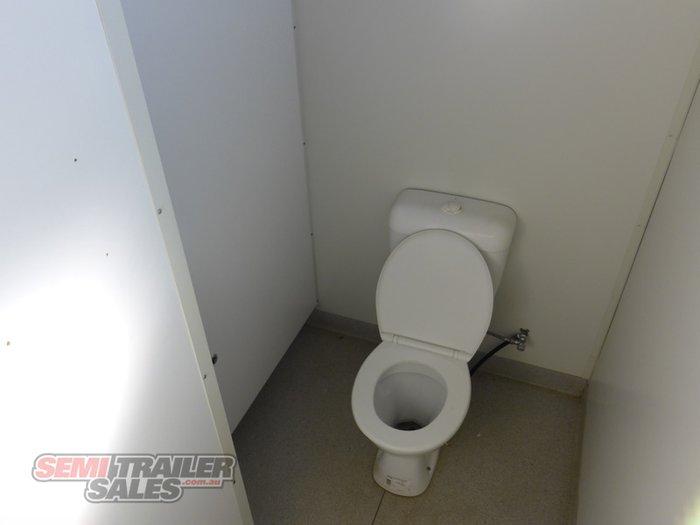 2009 Custom Unique Portable Toilet Block Trailer