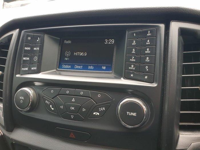 2016 Ford Ranger XLS PX MkII 4X4 Dual Range Silver