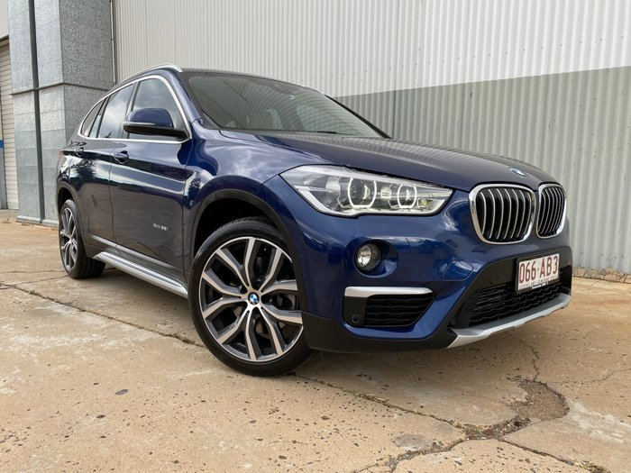 2016 BMW X1 xDrive25i F48 Four Wheel Drive BLUE