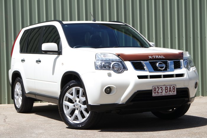 2012 Nissan X-TRAIL Ti T31 Series IV 4X4 On Demand WHITE