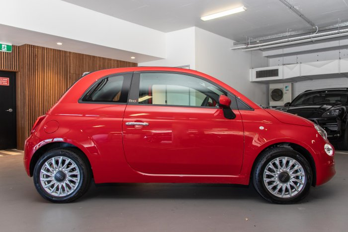 2020 Fiat 500 C LOUNGE 1.2L 5Spd Auto Convertible Passion Red