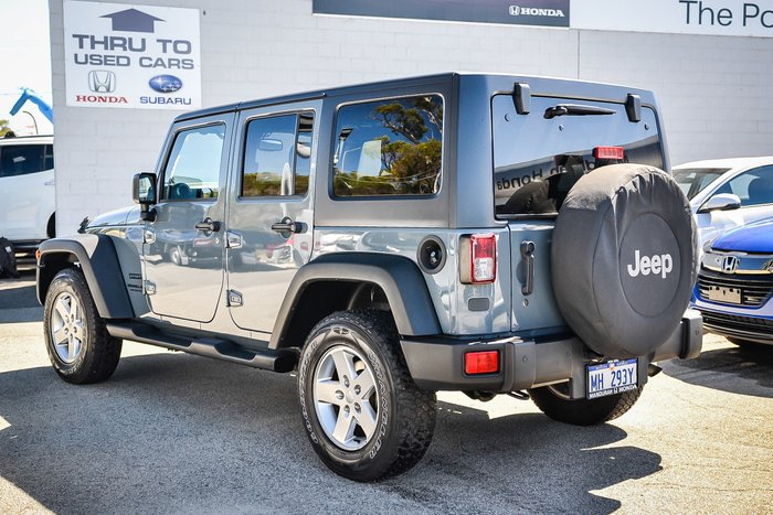 2015 Jeep Wrangler Unlimited Sport JK MY15 4X4 Dual Range GREY