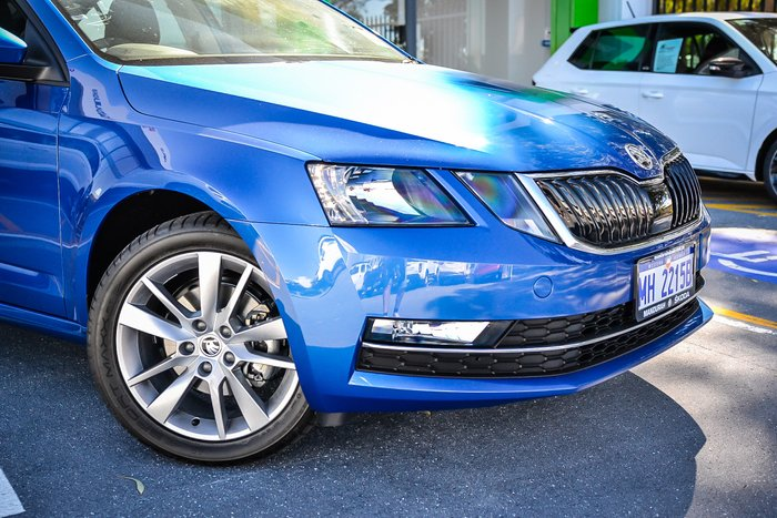 2019 Skoda Octavia Sedan 1.4L T/P 6Spd Manual MY19 Race Blue Metallic