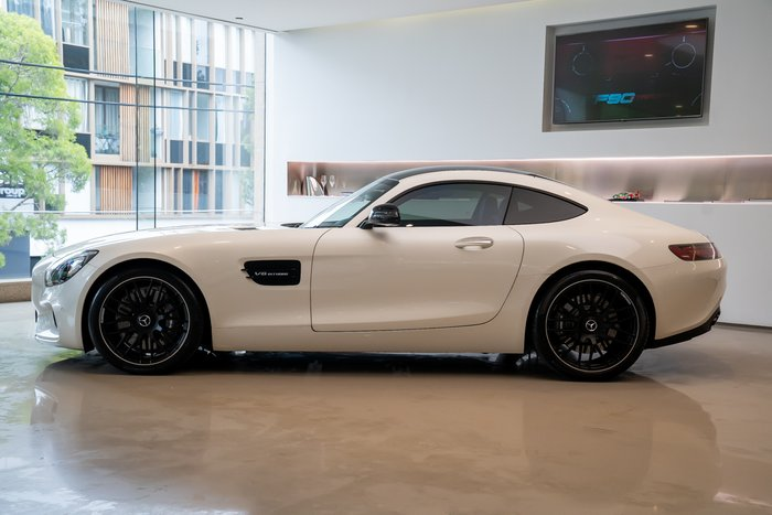2017 Mercedes-Benz AMG GT C190 WHITE