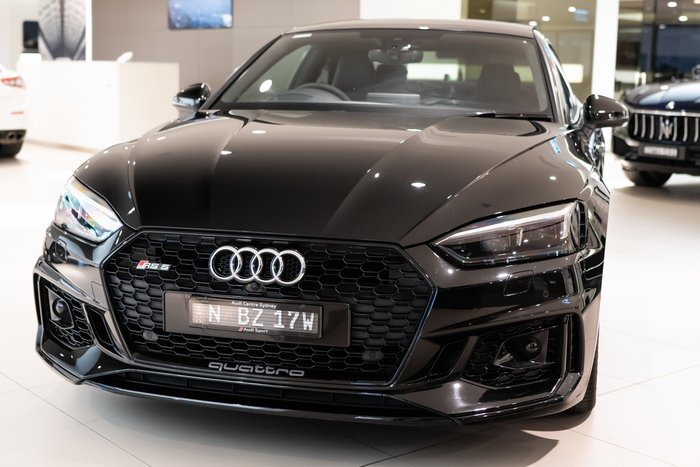 2018 Audi RS5 F5 MY18 Four Wheel Drive BLACK