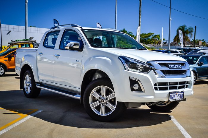 2018 Isuzu D-MAX LS-T High Ride MY18 SPLASH WHITE