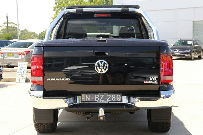 2018 Volkswagen Amarok TDI550 Highline 2H MY19 BLACK