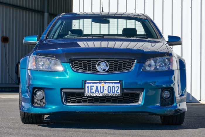 2012 Holden Ute SV6 VE Series II MY12 TURQUOISE