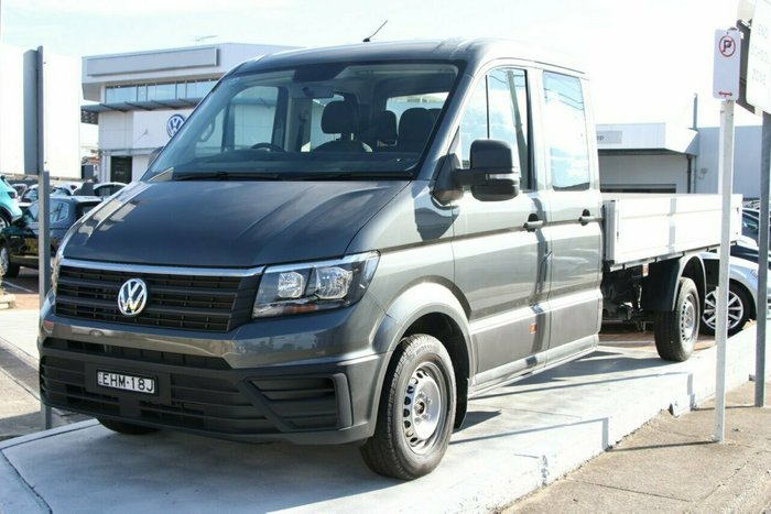 2019 Volkswagen Crafter 35 TDI410 SY1 MY20 Indium Grey Metallic
