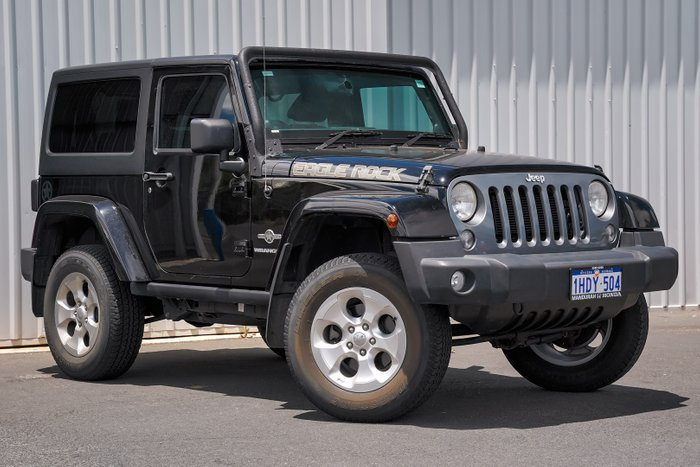 2014 Jeep Wrangler Freedom JK MY14 4X4 Dual Range BLACK
