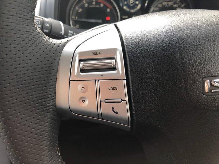 2019 Isuzu MU-X LS-T MY19 4X4 Dual Range Black