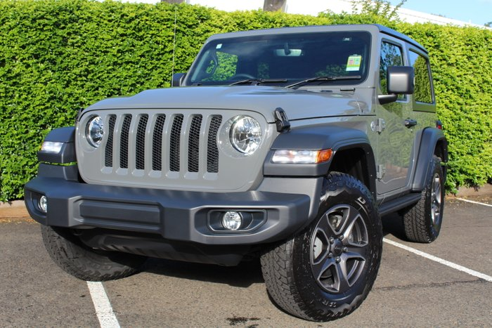 2019 CHRYSLER WRANGLER Sport S SPORT S 2DR 3.6L PET 8SPD AUTO CERAMIC GREY