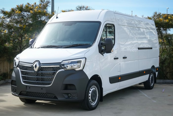 2021 Renault Master Pro 110kW X62 Phase 2 MY21 Mineral White Solid