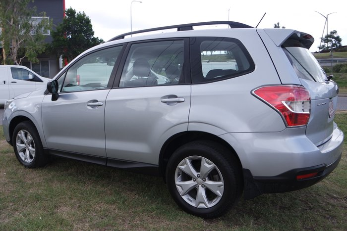 2013 Subaru Forester 2.0D S4 MY13 Four Wheel Drive SILVER