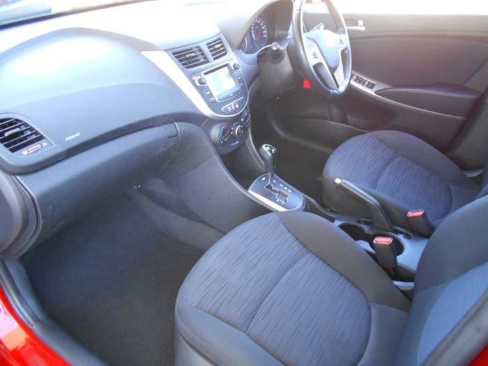 2019 Hyundai Accent Sport RB6 MY19 RED