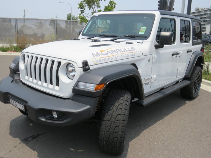 2019 Cjd Wrangler SPORT S UNLIMITED 3.6L Auto 4DR MY19 4WD Bright White