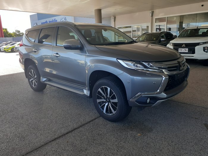 2018 MITSUBISHI PAJERO SPORT Exceed QE MY19 Exceed WAG 7st 5dr SA 8sp 605kg 2.4DT GREY