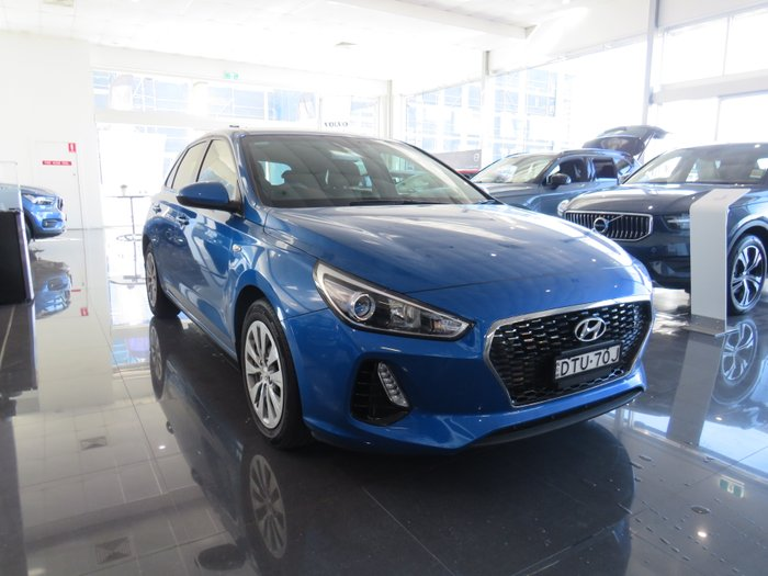 2018 Hyundai i30 Go PD MY18 BLUE