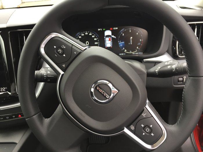 2019 Volvo XC60 D4 Momentum MY20 Four Wheel Drive Fusion Red