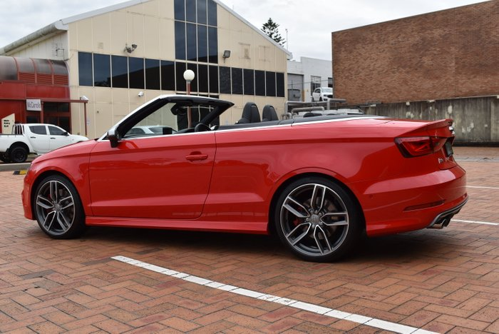 2014 Audi S3 8V MY15 Four Wheel Drive RED