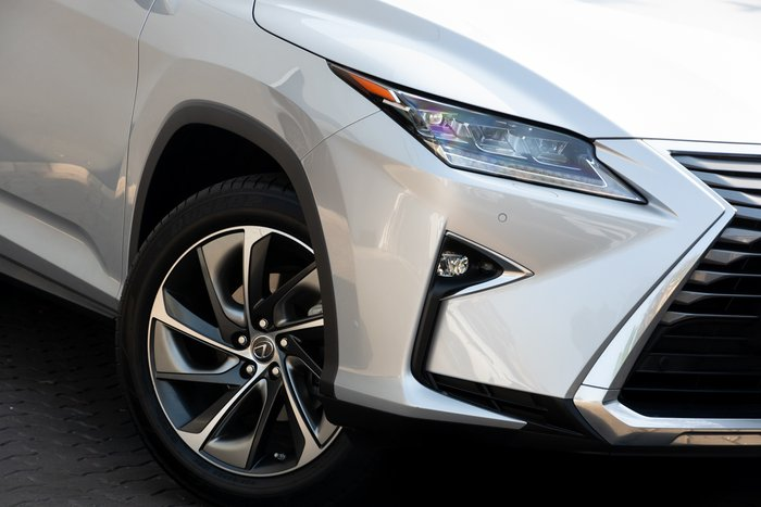 2018 Lexus RX RX450hL Sports Luxury GYL26R 4X4 On Demand PREMIUM SILVER