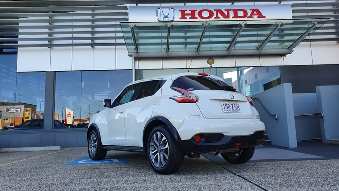 2017 Nissan JUKE Ti-S F15 Series 2 4X4 On Demand WHITE