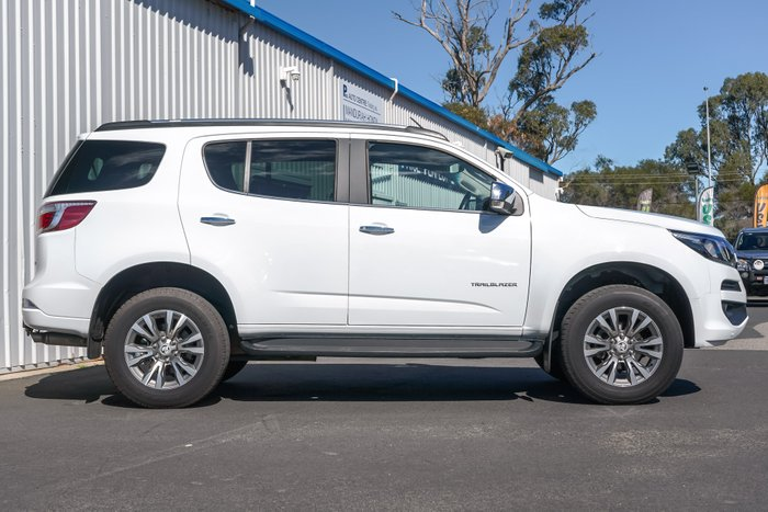 2019 Holden Trailblazer LTZ RG MY19 4X4 Dual Range SUMMIT WHITE