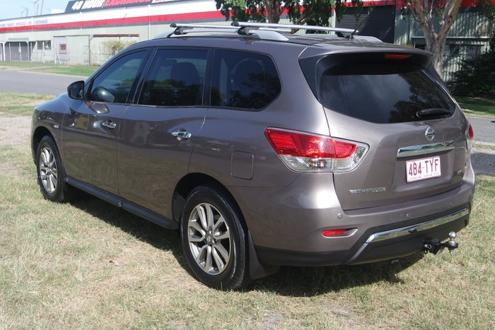 2013 Nissan Pathfinder ST R52 MY14 BROWN